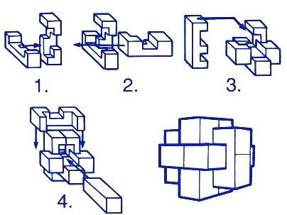 burr puzzle.
